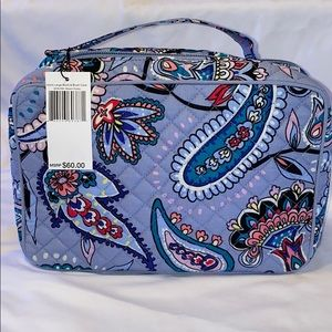 NWT Vera Bradley Large Blush and Brush Bag